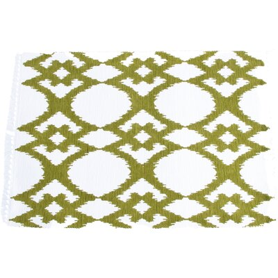 Breakwater Bay Oleander Ikat Design Ribbed Placemat