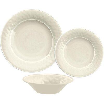12-Piece Wendy Melamine Dinnerware Set