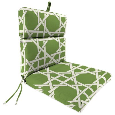 Outdoor Adirondack Chair Cushion Fabric: Kane Palm