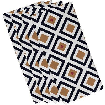 Frances Geometric Napkin Size: 19