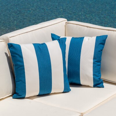 Edisto Outdoor Throw Pillow
