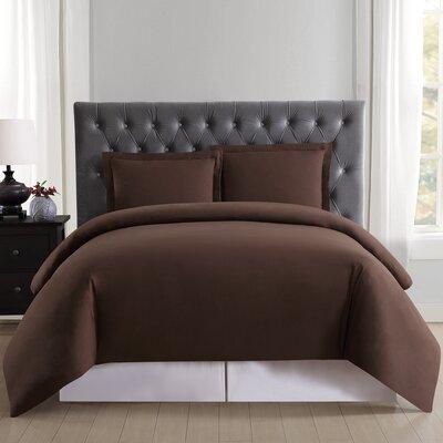 DeSoto Duvet Set Size: Twin XL, Color: Brown