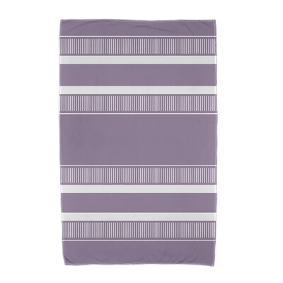 Ridgemoor Dashing Stripe Beach Towel Color: Purple