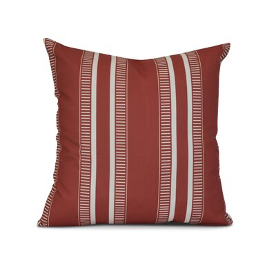 Mundell Outdoor Throw Pillow Size: 20 H x 20 W x 3 D, Color: Orange