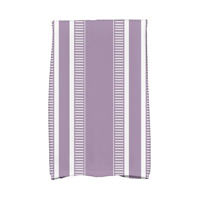 Ridgemoor Dashing Stripe Hand Towel Color: Purple