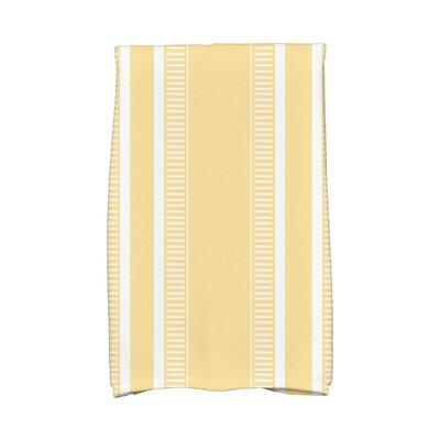 Dashing Stripe Hand Towel Color: Yellow