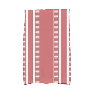 Dashing Stripe Hand Towel Color: Orange