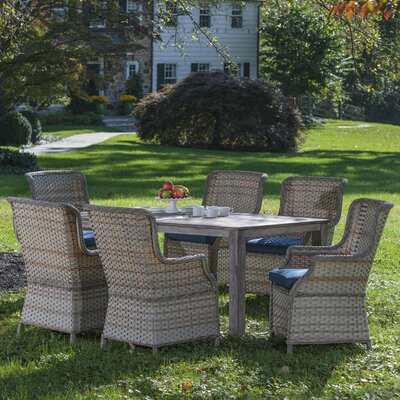 Connerton 7 Piece Dining Set with Cushion