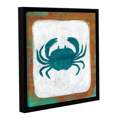 Ahoy V Framed Painting Print Size: 10