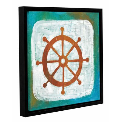 Ahoy IV Framed Painting Print Size: 14