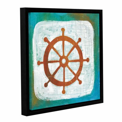 Ahoy IV Framed Painting Print Size: 10