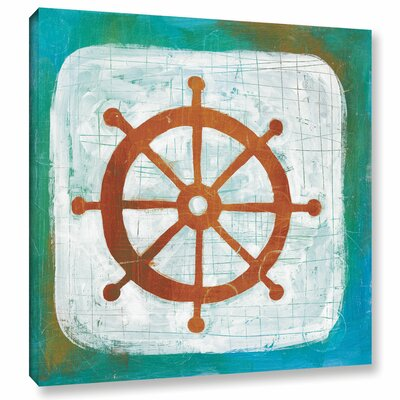 Ahoy IV Painting Print on Wrapped Canvas