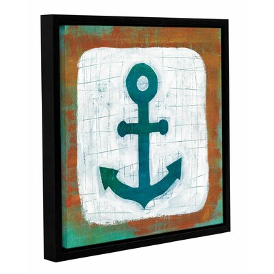 Ahoy III Framed Painting Print Size: 14