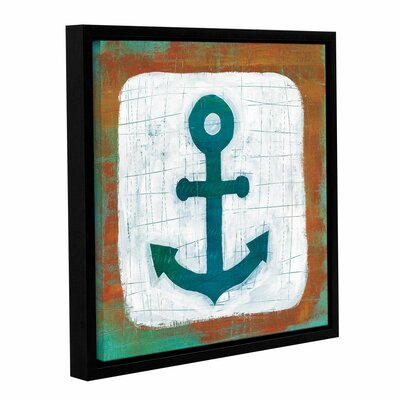 Ahoy III Framed Painting Print Size: 10