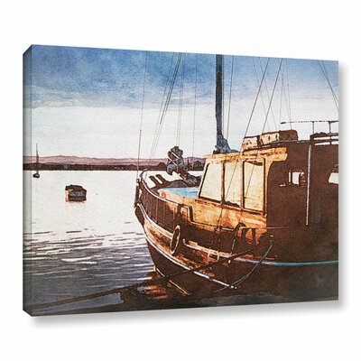 Bulwark Harbor Graphic Art on Wrapped Canvas Size: 14