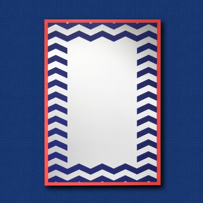 Chevron Decorative Wall Mirror