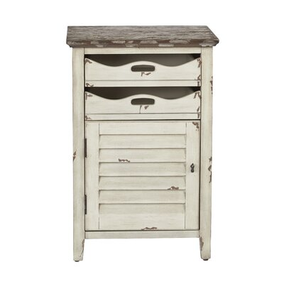 Riviera End Table Color: Country Cottage