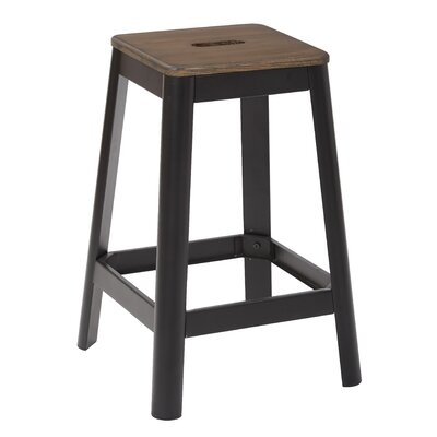 Achilles 25.75 Bar Stool Base Finish: Black