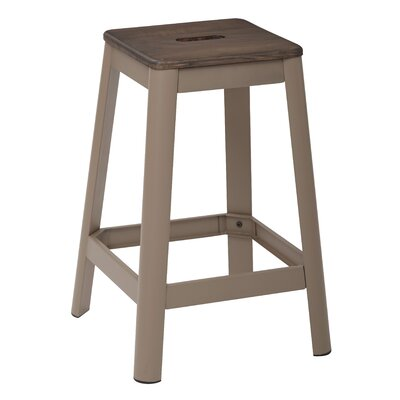 Achilles 25.75 Bar Stool Base Finish: Cappuccino