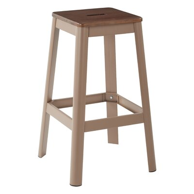 Achilles 29.5 Bar Stool Base Finish: Cappuccino