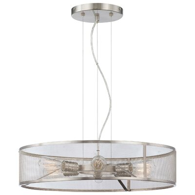 Breakwater Bay Roselawn 6 Light Drum Pendant