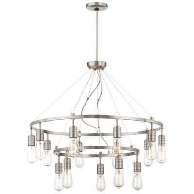 Breakwater Bay Roselawn 15 Light Chandelier