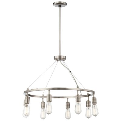 Breakwater Bay Roselawn 8 Light Candle Chandelier