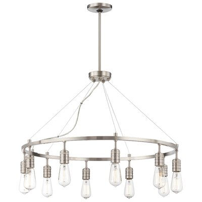 Emory 10-Light Candle-Style Chandelier