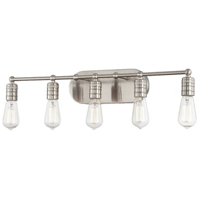 Breakwater Bay Roselawn 5 Light Vanity Light