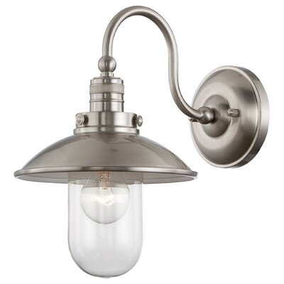 Breakwater Bay Roselawn 1 Light Wall Sconce