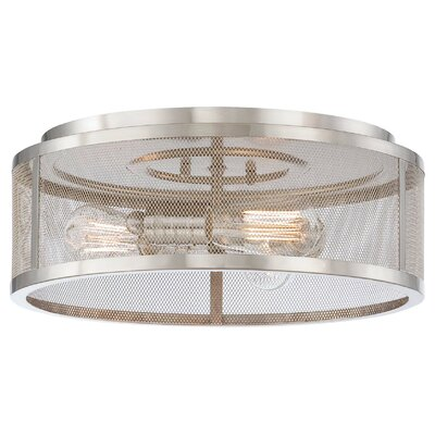 Breakwater Bay Roselawn 3 Light Flush Mount
