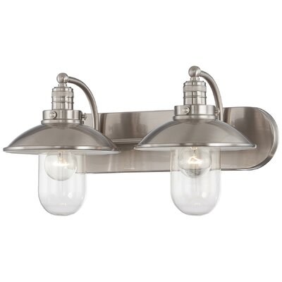 Breakwater Bay Roselawn 2 Light Vanity Light