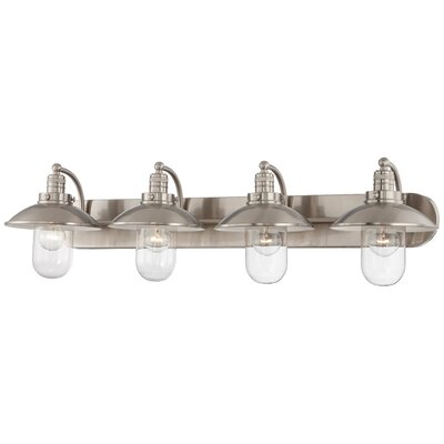 Breakwater Bay Roselawn 4 Light Vanity Light