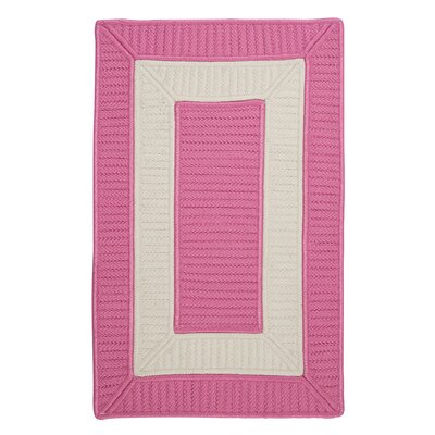 Kenton Pink Indoor/Outdoor Area Rug Rug Size: Rectangle 8 x 11