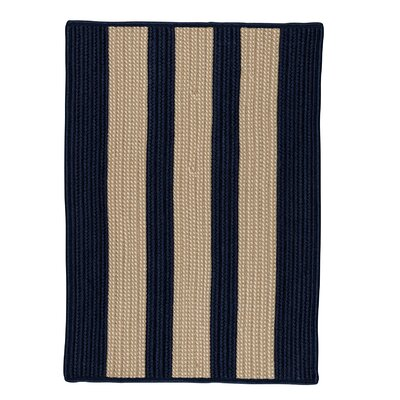Seal Harbor Navy Indoor/Outdoor Area Rug Rug Size: Square 12