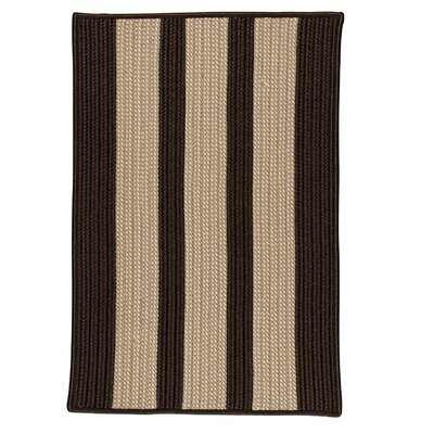 Seal Harbor Brown Indoor/Outdoor Area Rug Rug Size: Square 6