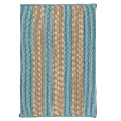 Seal Harbor Light Blue Indoor/Outdoor Area Rug Rug Size: Square 4