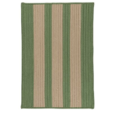 Seal Harbor Olive Indoor/Outdoor Area Rug Rug Size: Square 4