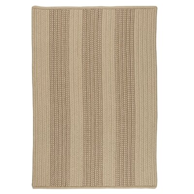 Seal Harbor Natural Indoor/Outdoor Area Rug Rug Size: Square 4
