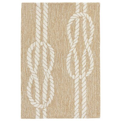Orinda Hand-Tufted Neutral Indoor/Outdoor Area Rug