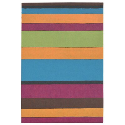 Allard Bay Garden Stripe Mat Color: Multi