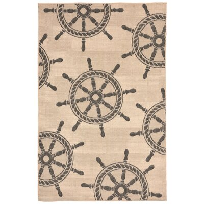 Valero Natural Indoor/Outdoor Area Rug Rug Size: 710 x 910