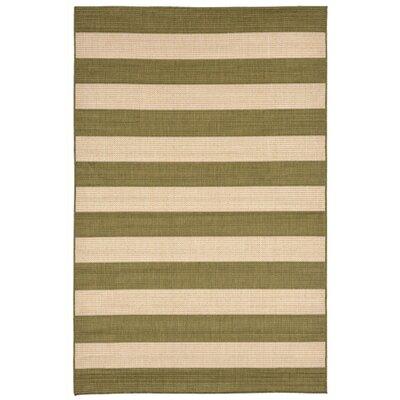 Valero Green Indoor/Outdoor Area Rug Rug Size: 410 x 76