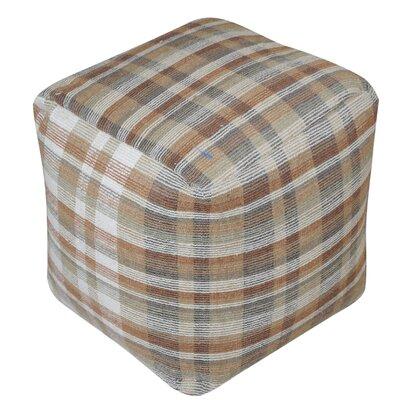 Bahama Pouf Ottoman Upholstery: Brown