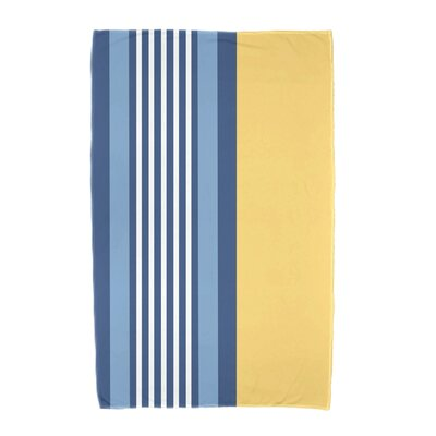 Beach Shack Beach Towel Color: Yellow