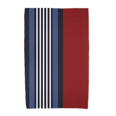 Beach Shack Beach Towel Color: Red