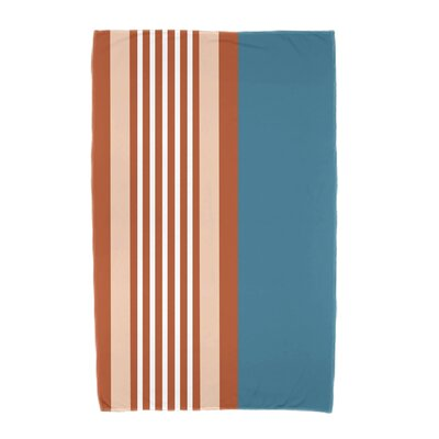 Beach Shack Beach Towel Color: Teal