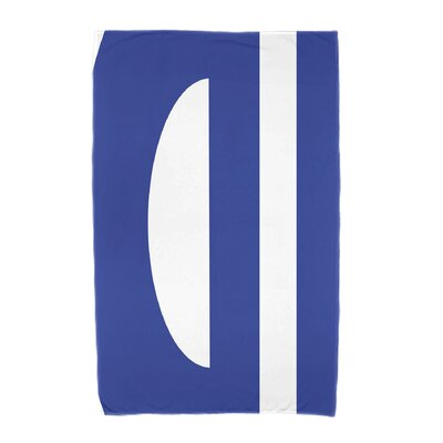 Lock Beach Towel Color: Blue