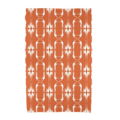 Summer Picnic Beach Towel Color: Orange