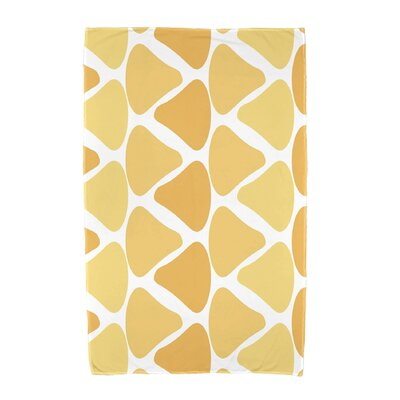 Watermelon Seeds Beach Towel Color: Yellow